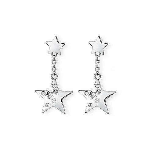 2Jewels - Orecchini in acciaio 316L stella 261234