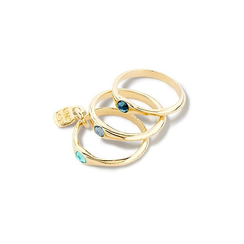 Uno de 50 - Anello donna  Happy Blue ANI0678AZORO15
