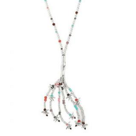 Long Dragonfly Necklace COL1277MCLMTL0U