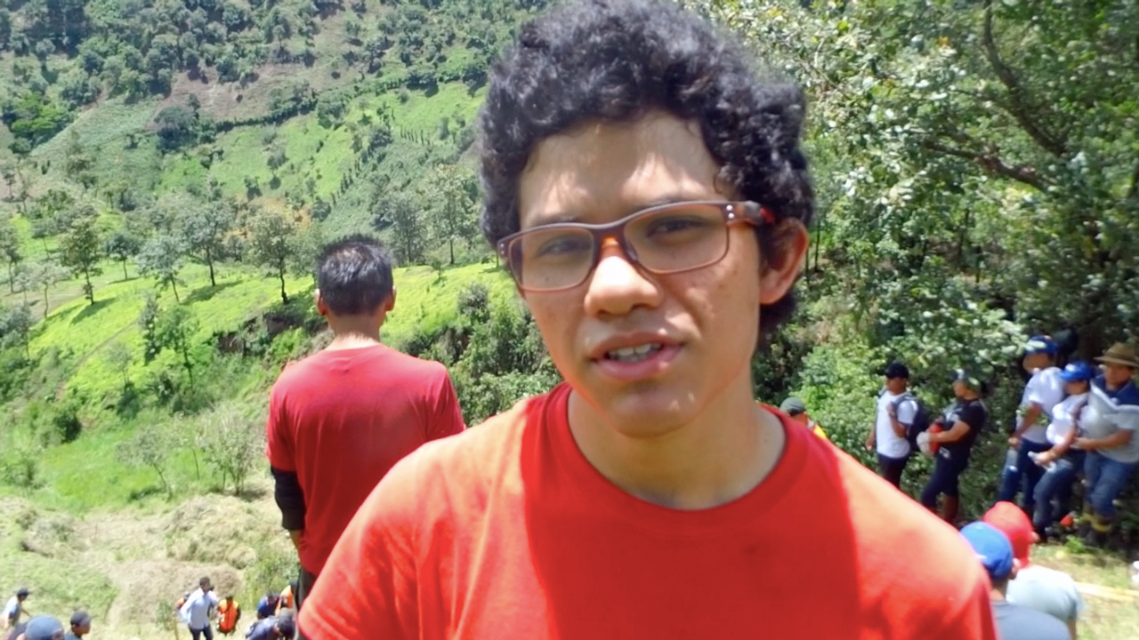 Josué (Actividad de Reforestación)
