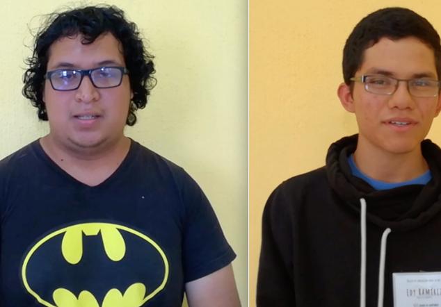 """Josué y Daniel (Testimonios de """"Las juventudes participamos"""")"""