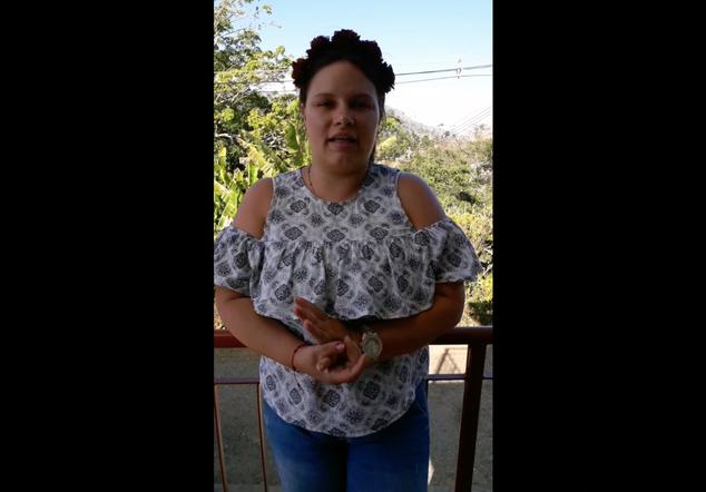 """Margarita (Conversatorio """"Acceso a la justicia con perspectiva de género"""")"""
