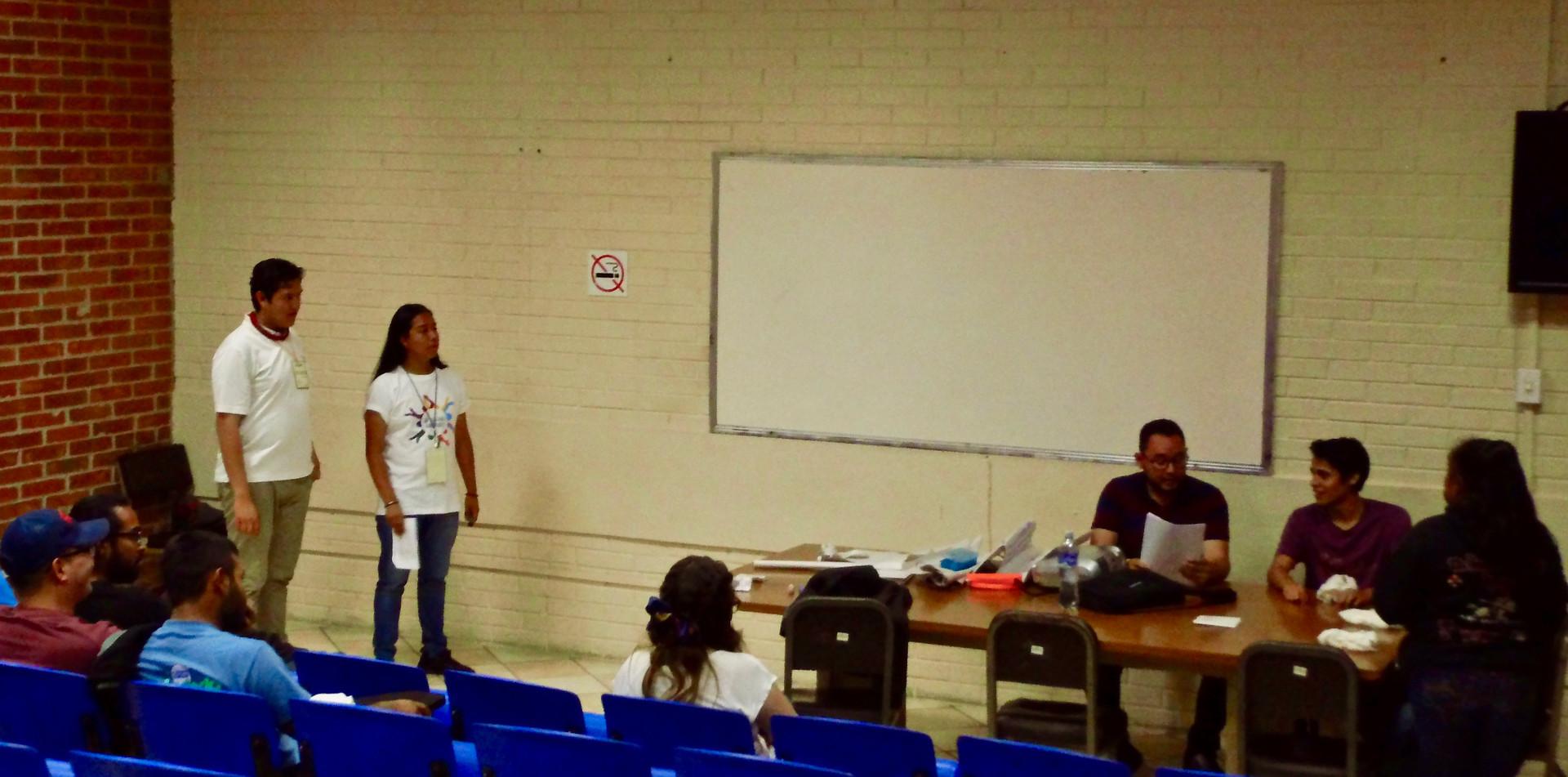 """Seminario Nacional """"Las Juventudes Luchamos"""" (Participación e Incidencia Política)"""