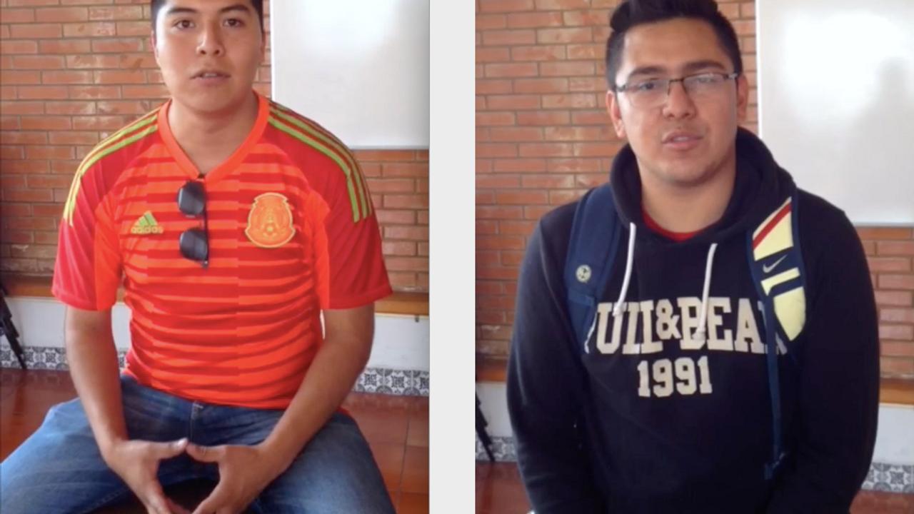 """Víctor y Alejandro (Taller """"Cuerpos, Identidades y Discriminación"""")"""