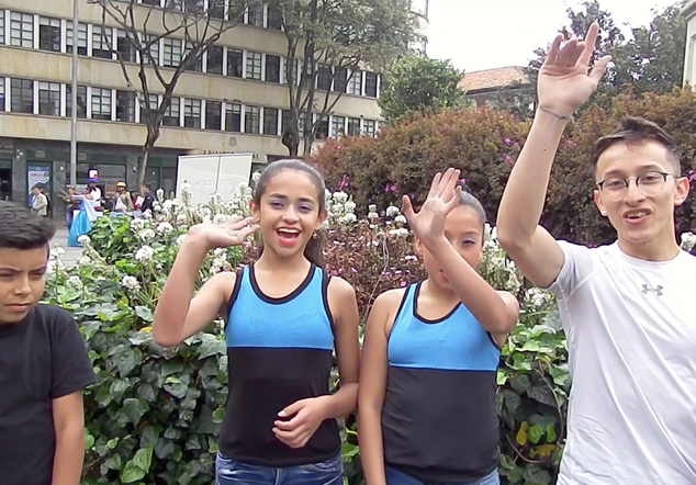 Brian, Laura, Brenda y Julián (Danza y Movimiento Contra la Violencia de Género)