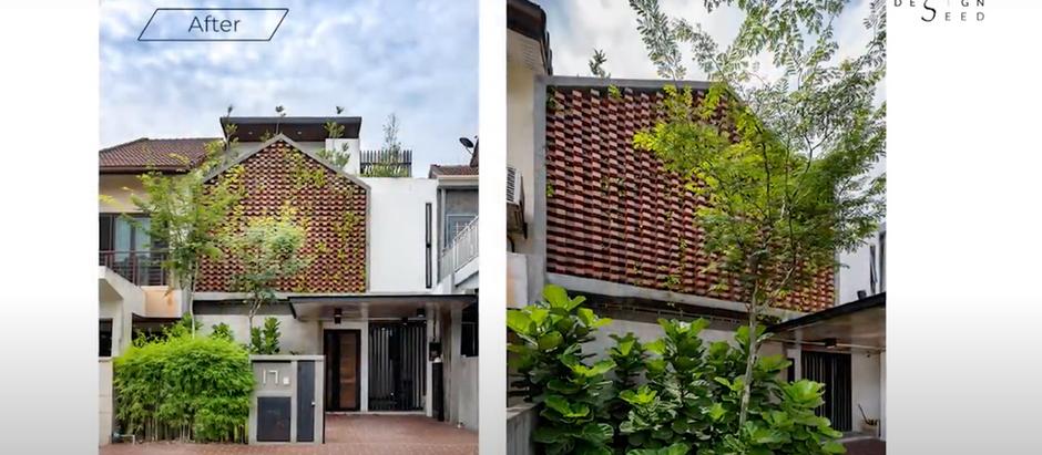 Malaysia's Extraordinary Terrace House Transformation|NJ House|Architecture|House Tour