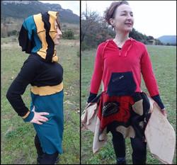 Robes, tuniques et jupes