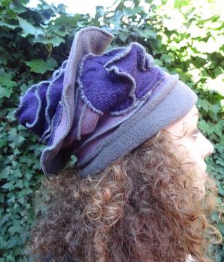 Chapeau laine et polaire