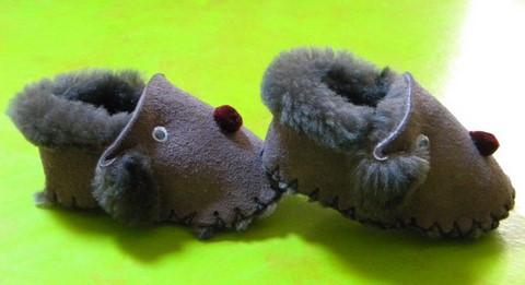 5.chaussons-enfants-cuir-laine-fantaisis