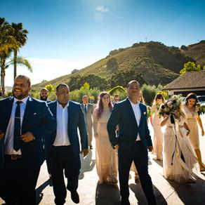 Erica & Antonio's California Wedding