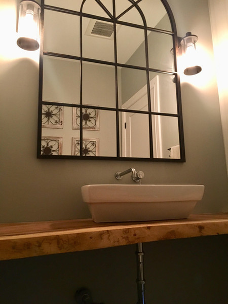 Floating Sink - Powder Room