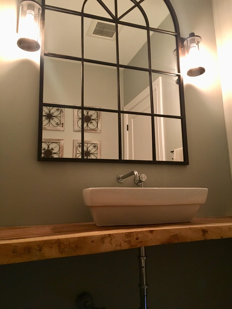 Floating Sink - Powder Room