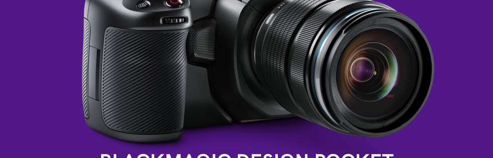 BlackMagic Design Pocket Cinema Camera .