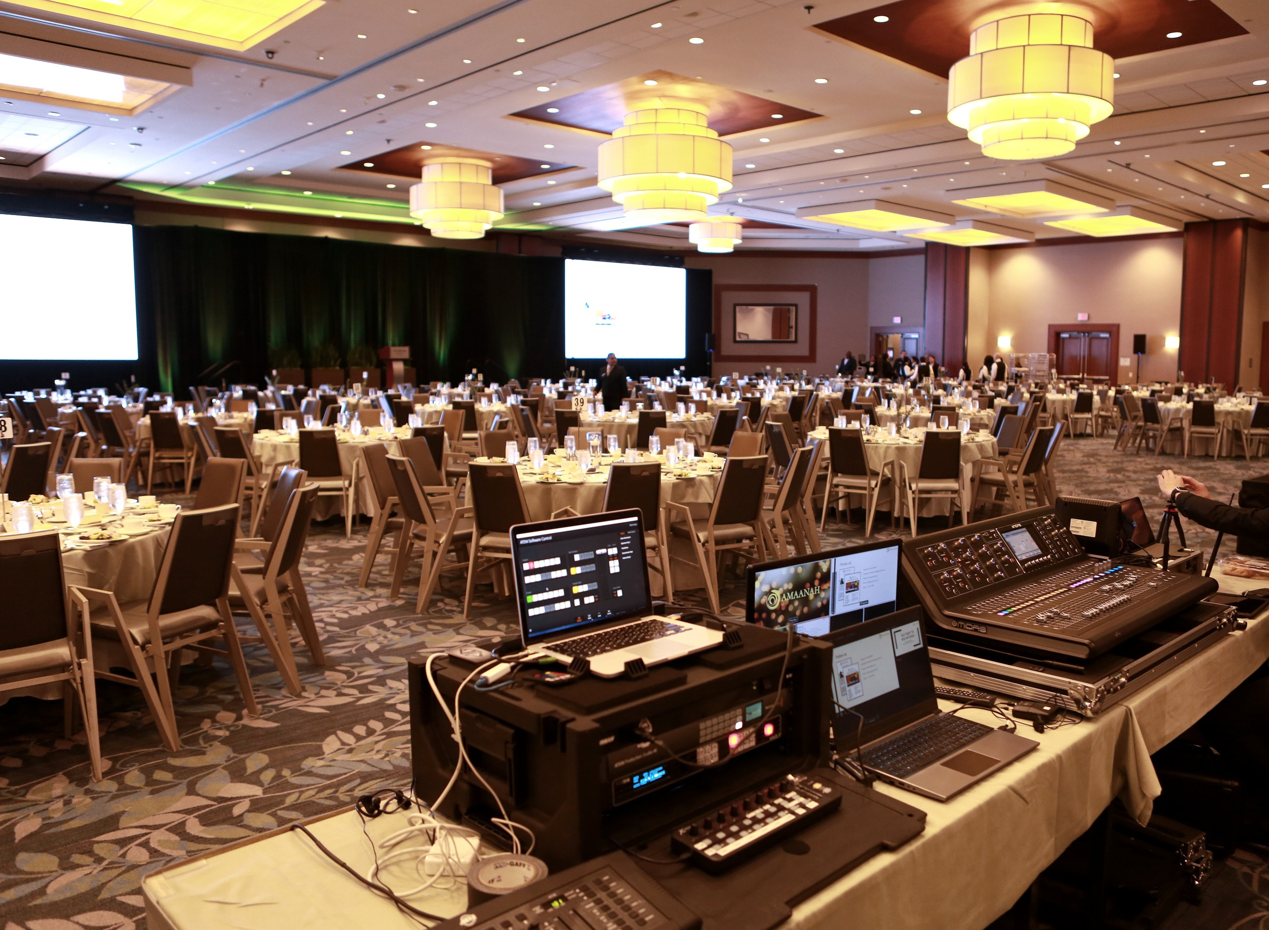 Complete Technology and Audio Visual for Non-Profit.