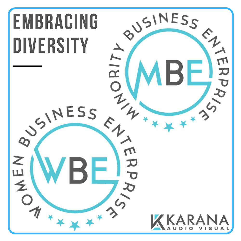 Karana Audiovisual- Certified as a Minority Business