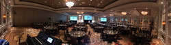 Corporate Event- Triple Screens