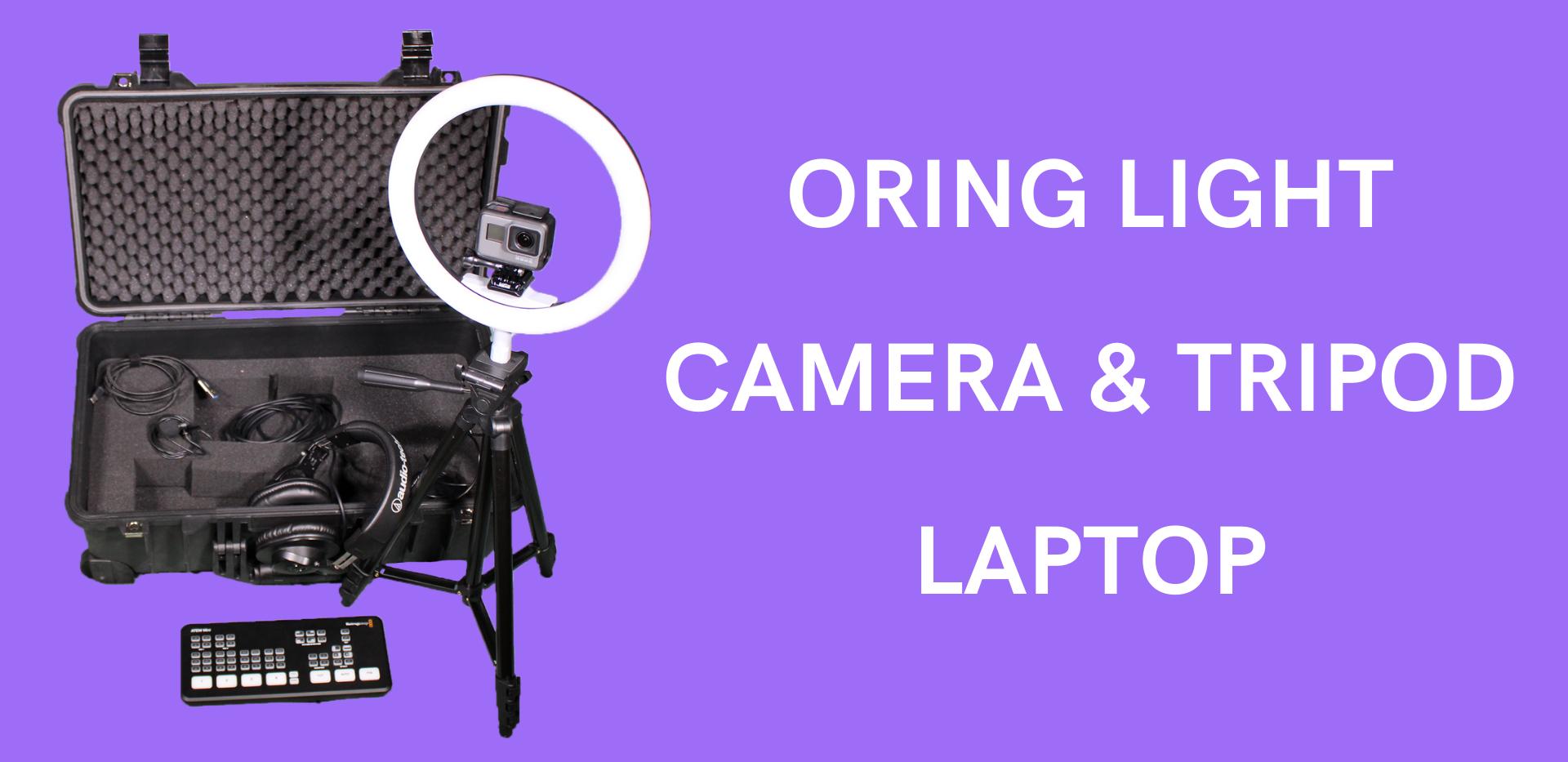 Light Rental for Livestreaming- Houston