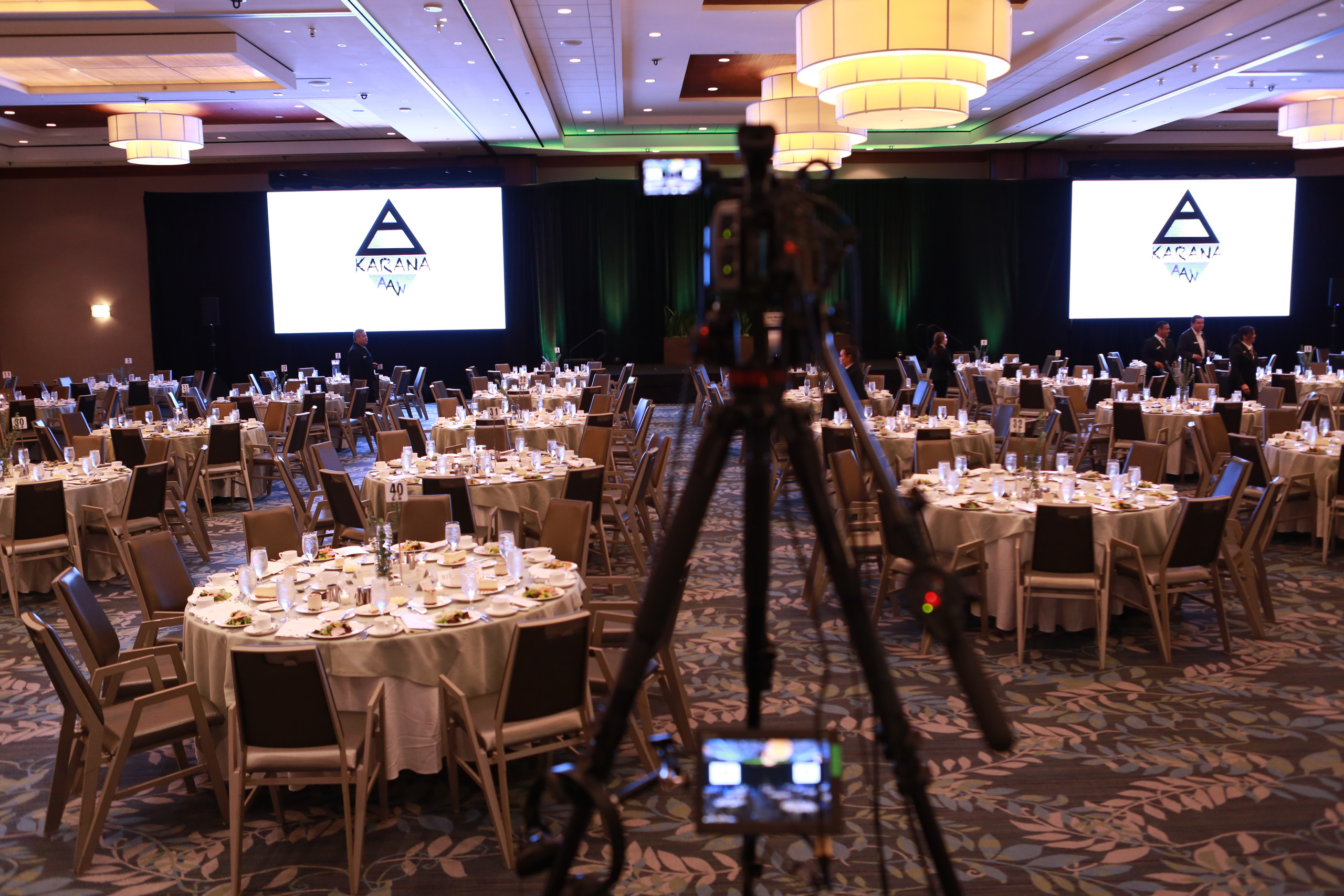 Camera technician for Image Magnification (IMAG) in events in Houston