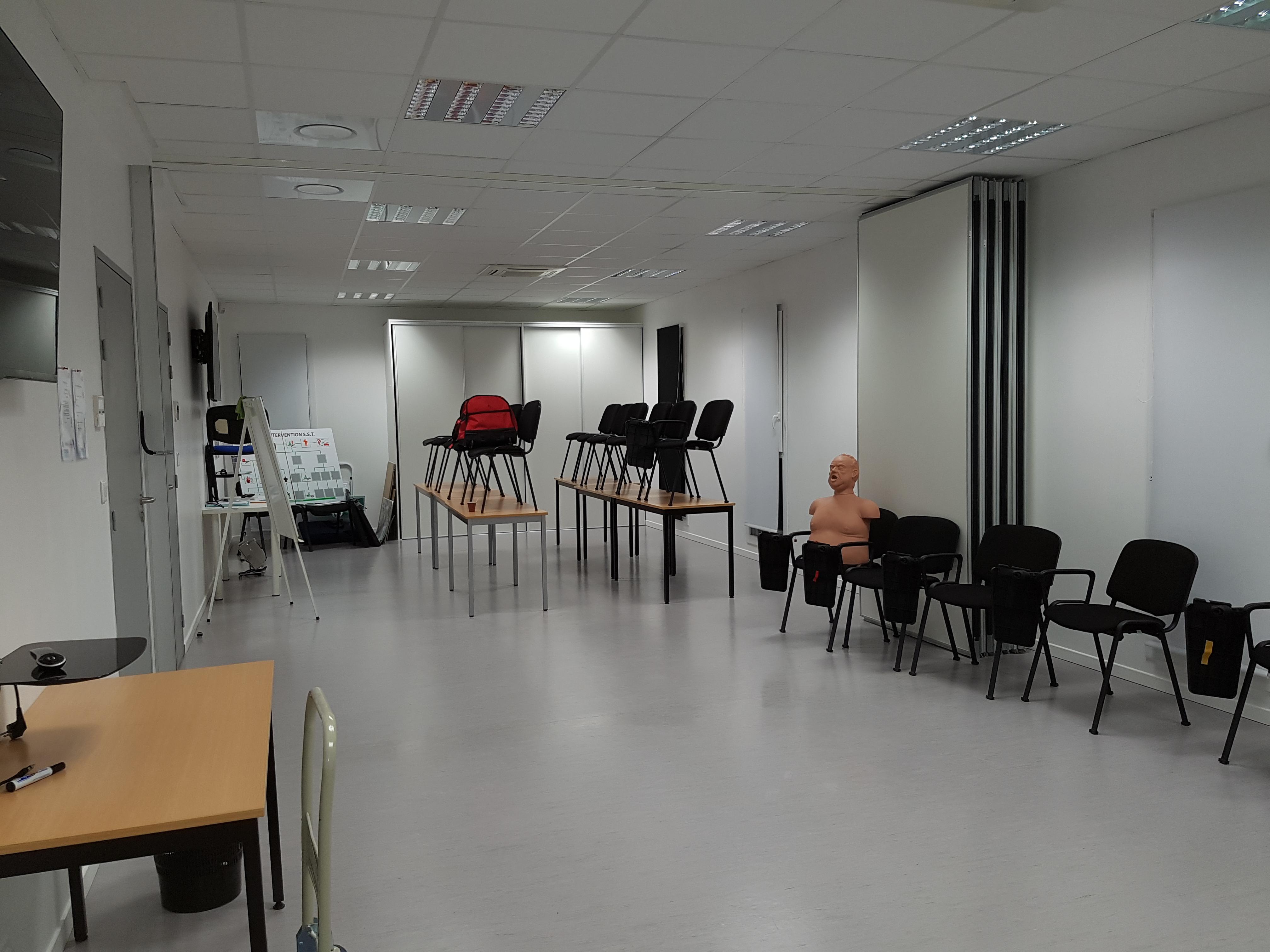 Salle de formation 60 m2