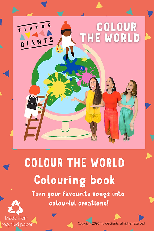 Colour the World Colouring Book