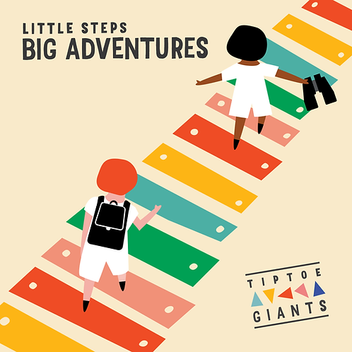 Little Steps, Big Adventures CD