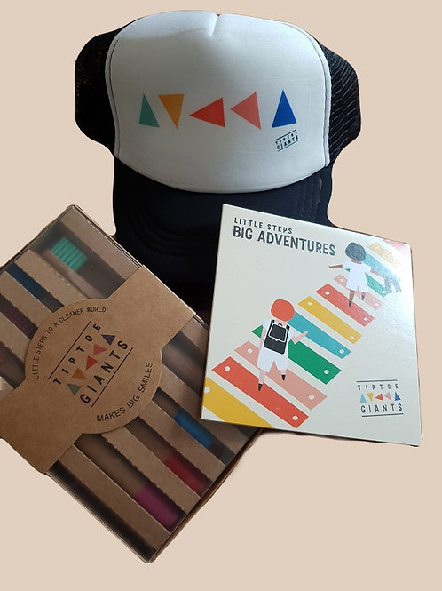 LSBA Bundle Pack: CD, Trucker Cap, Eco Friendly Toothbrush Pack