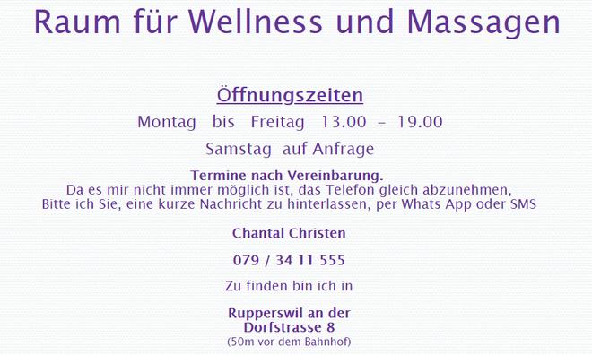 WelMa-Massagen