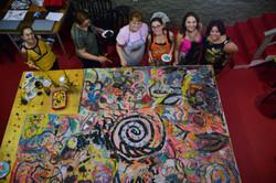 Resultado Pintura em Grupo