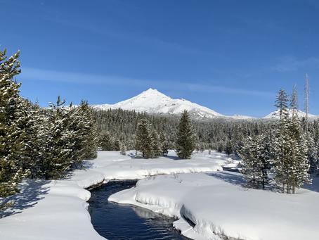 Winter at Elk Lake Resort