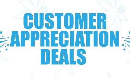 Customer Appreciation Weekend