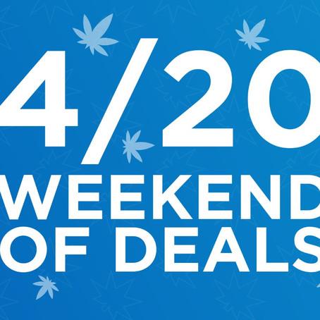 Nirvana's 4/20 Weekend of Deals! 💰