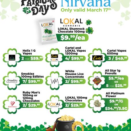 Share Nirvana's Pot O' Gold! ☘️
