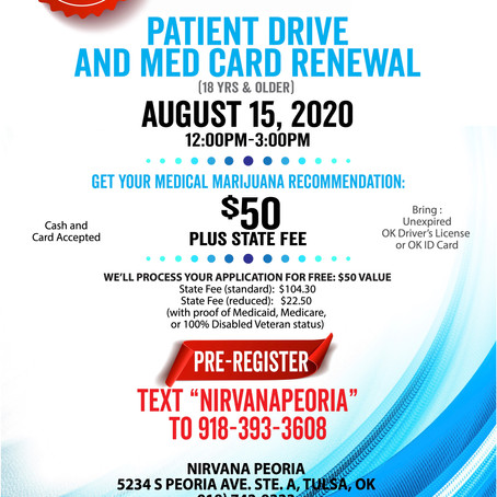 Get your medical card renewed from Nirvana!