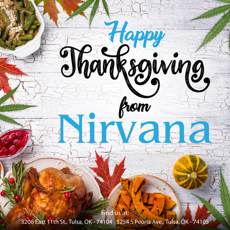 Happy Thanksgiving From Nirvana!