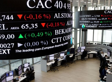 CAC 40 Down 127 Points On Virus Worries