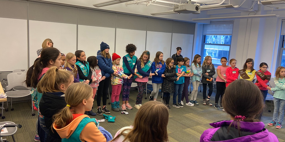 Virtual Girl Scout IP Patch Event