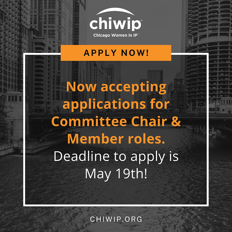 Committee Applications – Deadline to Apply is May 19th!