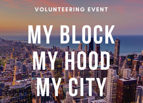 My Block My Hood My City Volunteering Event