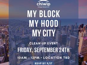 My Block My Hood My City Clean-Up Event