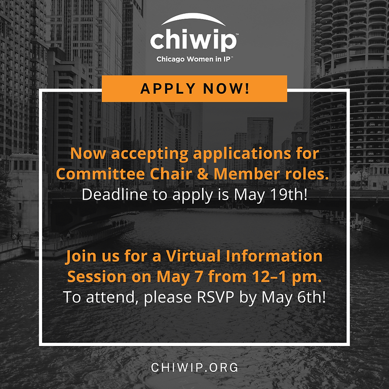 ChiWIP Committee Applications Information Session