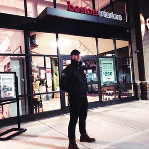 Providing overnight security for New England retail giant, Boston Interiors in Bedford, NH.