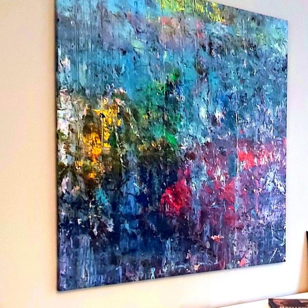 Revival, 150 x150 cm