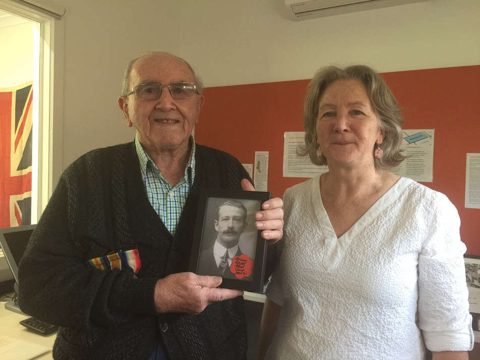 Do you have photos of local WW1 servicemen and women?