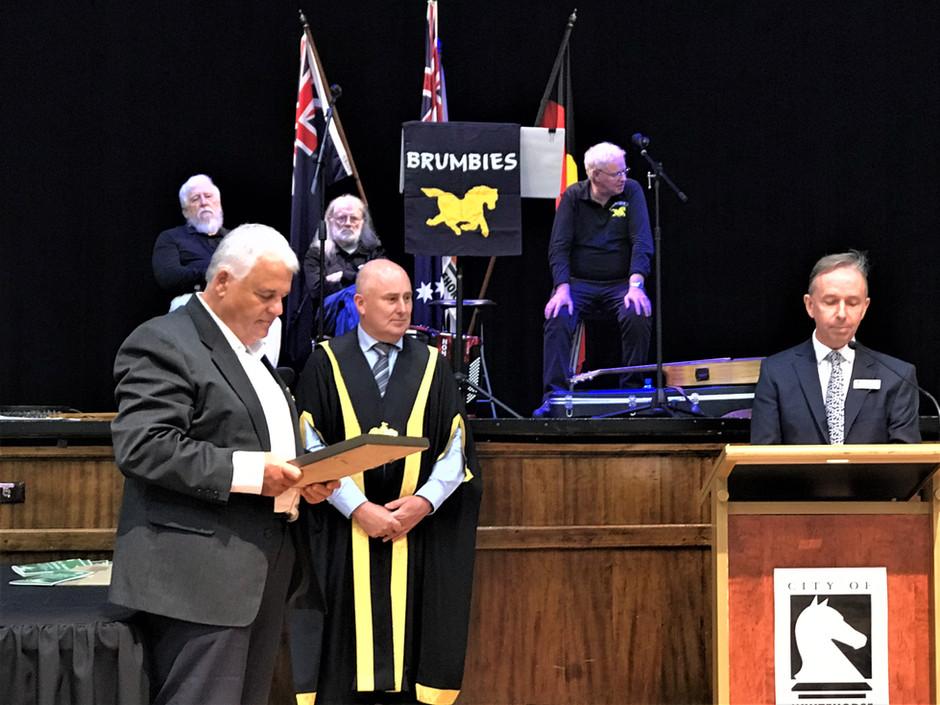 SHPA congratulates David Winter