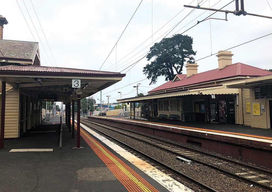 Please help as the Mont Albert station building is at risk