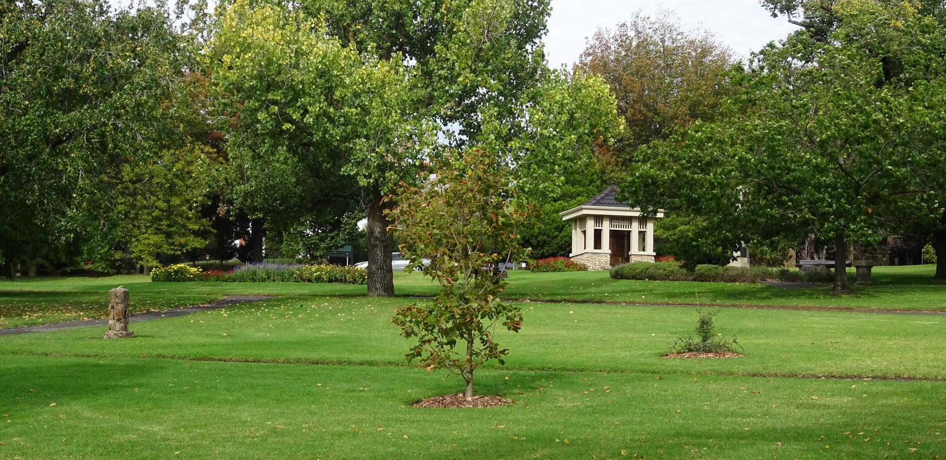 Surrey Gardens and the Shrine