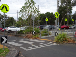 Pedestrian Crossing in Station Carpa
