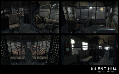 Silent Hill Downpour Prison Bus