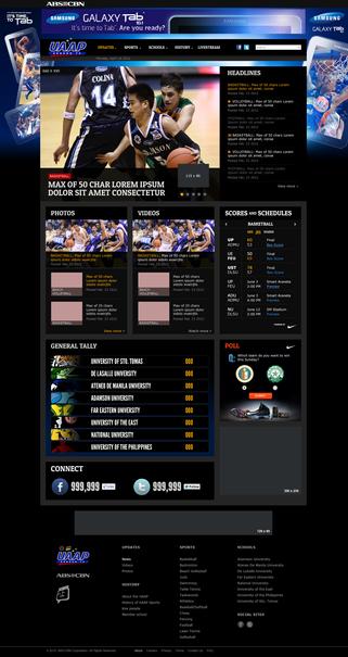 UAAP Site Samsung Re-Skin