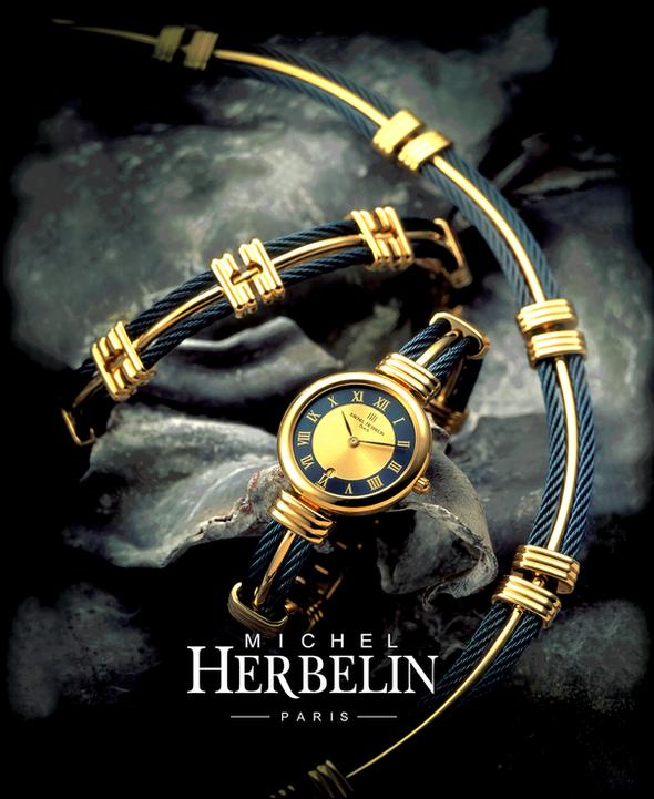 Herbelin Watch Ad